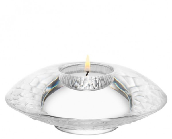 Discus Votive Frosted