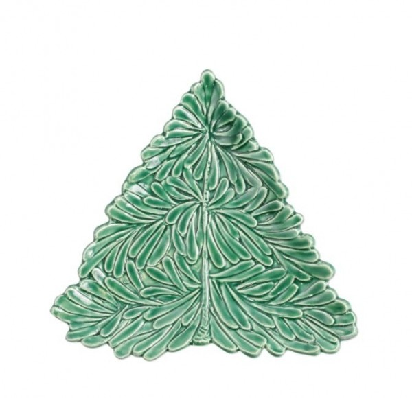 Lastra Holiday Figural Tree Small Plate Tisfortable
