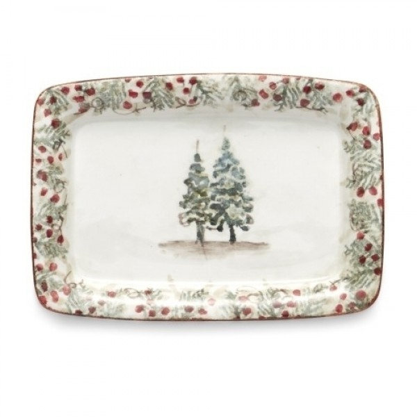 Natale Small Rectangular Tray