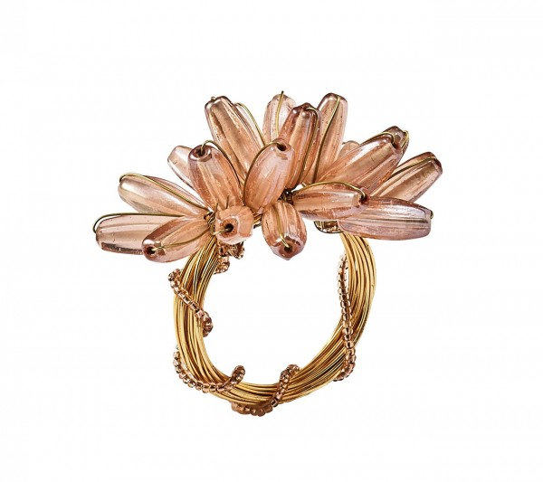 Camellia Blush Napkin Ring