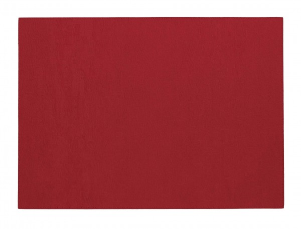 Presto Rectangle Placemat Red