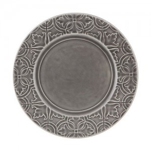 Rua Nova Anthracite Dinner Plate