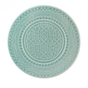 Rua Nova Morning Blue Salad Plate