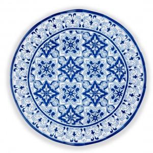 Talavera Azul Serving Platter