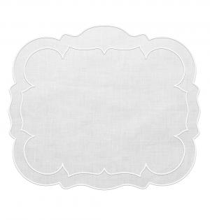 Linho Rectangular Linen White Set/4