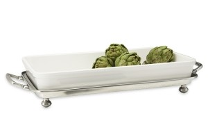 Convivio Footed Baking Tray w/ Handles