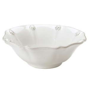 Berry and Thread Berry Bowl Whitewash