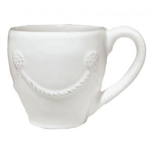 Berry and Thread Demitasse Cup Whitewash