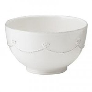 Berry and Thread Cereal Bowl Whitewash
