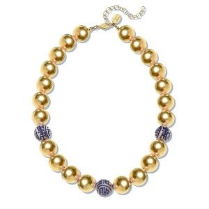 Blue and White Margaret Necklace