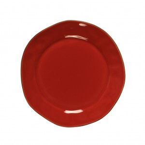 Cantaria Salad Plate Poppy Red