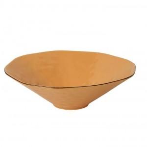 Cantaria Centerpiece Bowl Golden Honey