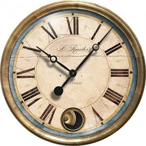 Rossiter Blue Clock