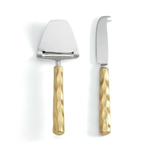 Truro Gold Cheese Shaver and Knife Set