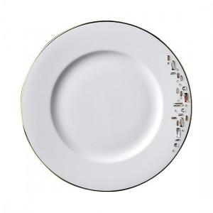 Diana Gold Dinner Plate