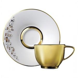 Diana Gold Tea Cup and Saucer