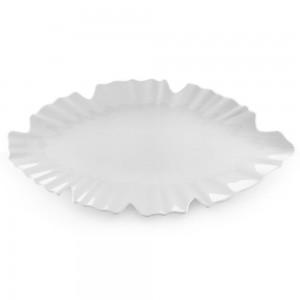 Zen White Large Serving Platter