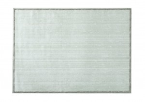 Rectangular Place mat w/ Crystals Silver