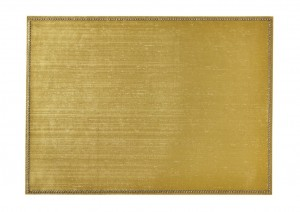 Rectangular Place mat w/ Crystals Gold
