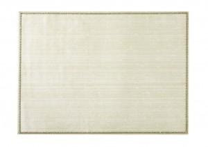 Rectangular Place mat w/ Crystals Ivory
