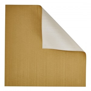 Silk Square Gold/Ivory Reversible Mat