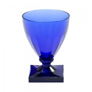 Acrylic Wine Goblet in Cobalt