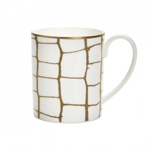 Domenico Vacca Mug Alligator Gold