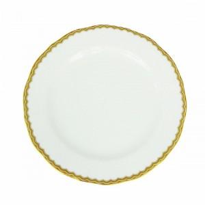 Antique Gold Salad Plate
