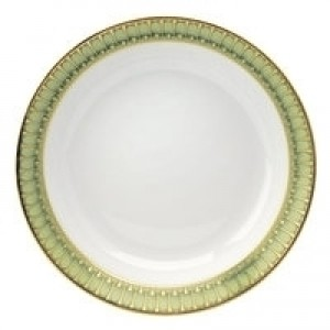 Arcades Green Soup Cereal Plate