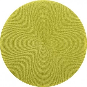 Round Placemat in Avacado
