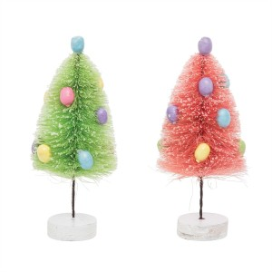 Easter Egg Mini Brush Tree Set/2