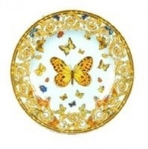 Butterfly Garden Bread and Butter Plate