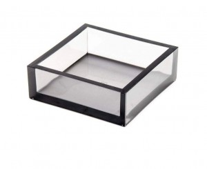 Acrylic Smoke Cocktail Napkin Box