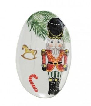 Nutcrackers Small Oval Platter