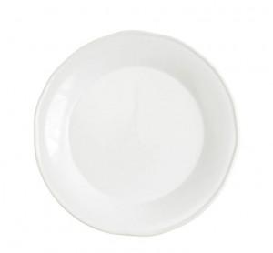 Chroma White Round Platter/Charger