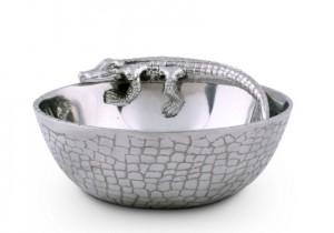 Alligator Condiment Bowl