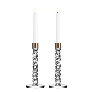 Carat Brass Candlesticks Set/2