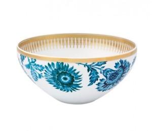 Gold Exotic Salad Bowl