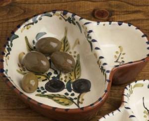 Alentejo Terracotta Large Olive Dish