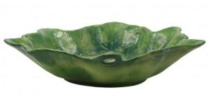 Foglia Stone Large Serving Bowl