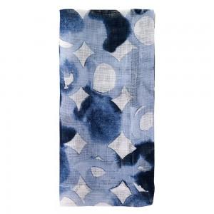 Watermark Blue Napkin Set/4