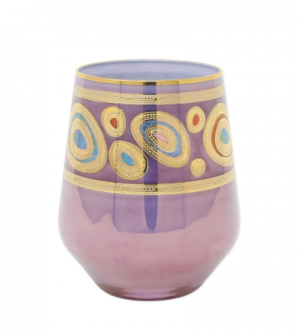 Regalia Purple Stemless Wine Glass