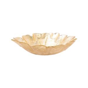 Moon Glass Leaf Medium Bowl
