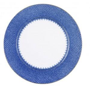 Cobalt Blue Lace Service Plate