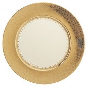 Gold Lace Service Plate