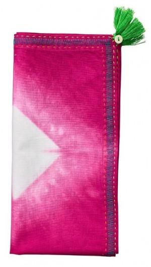 Diamond Ray Napkin in Pink