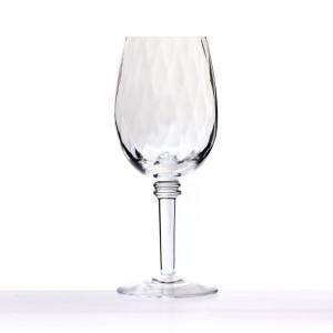 Abigail White Wine Glass