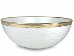Truro Gold Large Bowl