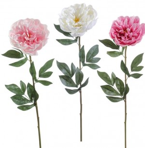 Real Touch Peony Stem