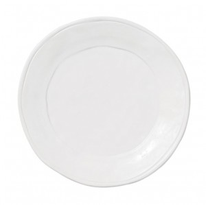 Fresh White Salad Plate